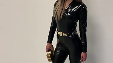 WWE - ''Lana'' aka CJ Perry in tight black outfit