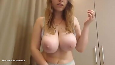 STUDENT WITH BIG TITS REVEALS THEM