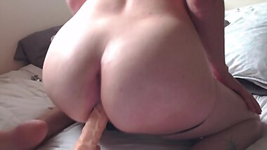 femboy big ass dildo tease