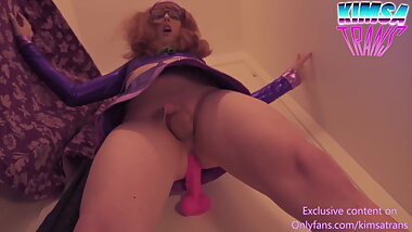 SISSY DAPHNE MILKED BEFORE THE MYSTERY GANG COMES HOME!