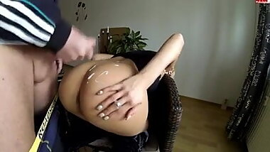big cock son fucking his big ass blonde stepmom very hard