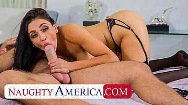 Naughty America - Audrey Bitoni fucks husband's employee